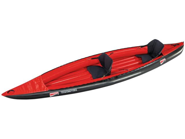 Grabner Tramper - Bateau - rouge/noir